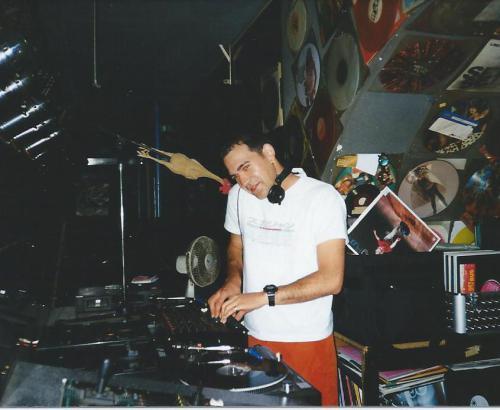 DJ Mario Schulz in den 90er Schlachthof Neubrandenburg