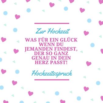 Hochzeitsspruch Zur Hochzeit - DJ Mario Schulz