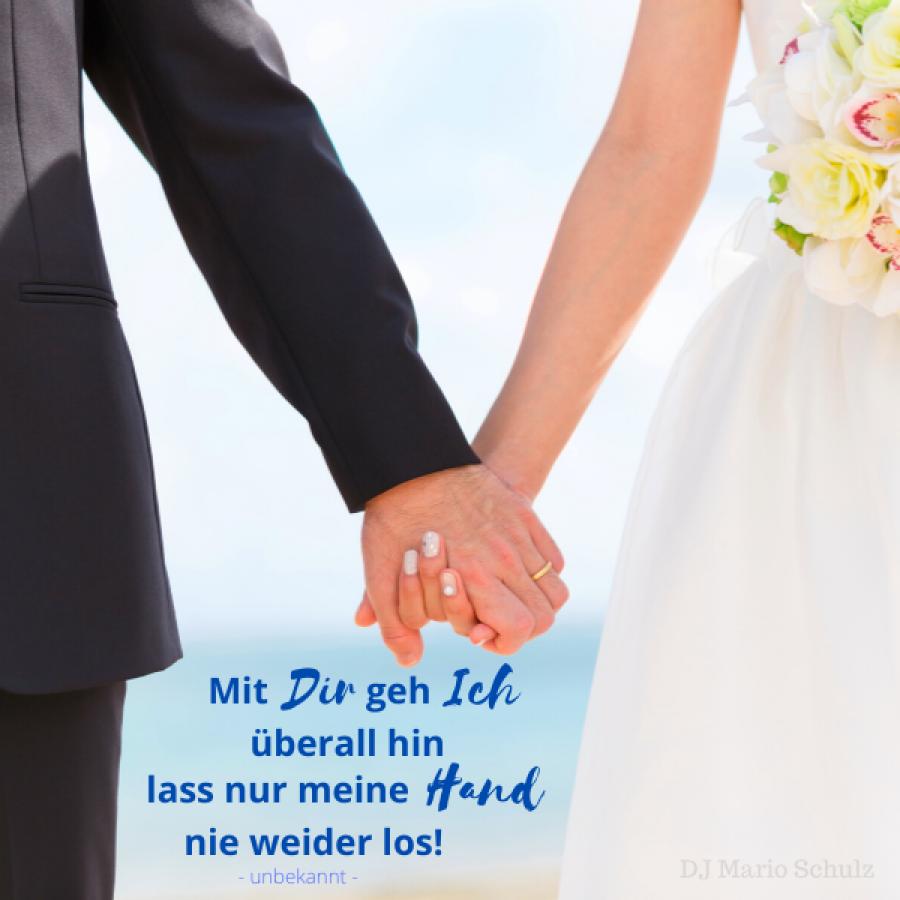 spruch zur hochzeit - Liebesspruch Bilder - DJ Mario Schulz