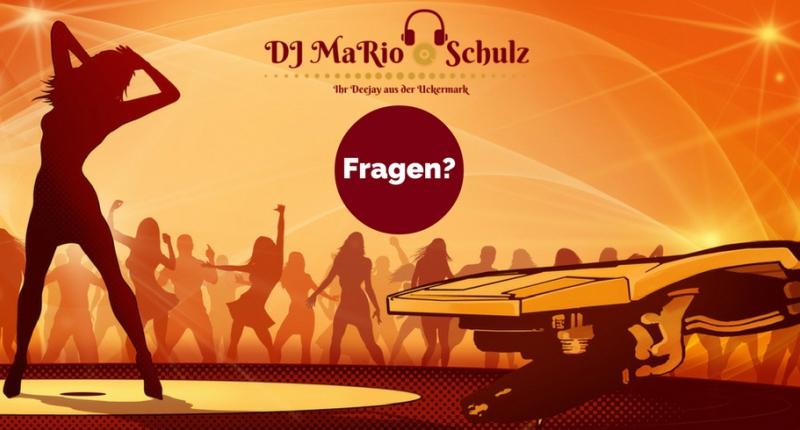Häufig gestellte Fragen. DJ Mario Schulz