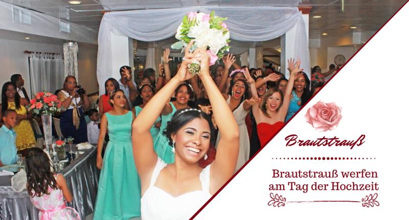 Brautstraußwerfen am Tag Ihrer Hochzeit - Hochzeitsbräuche - DJ Mario Schulz