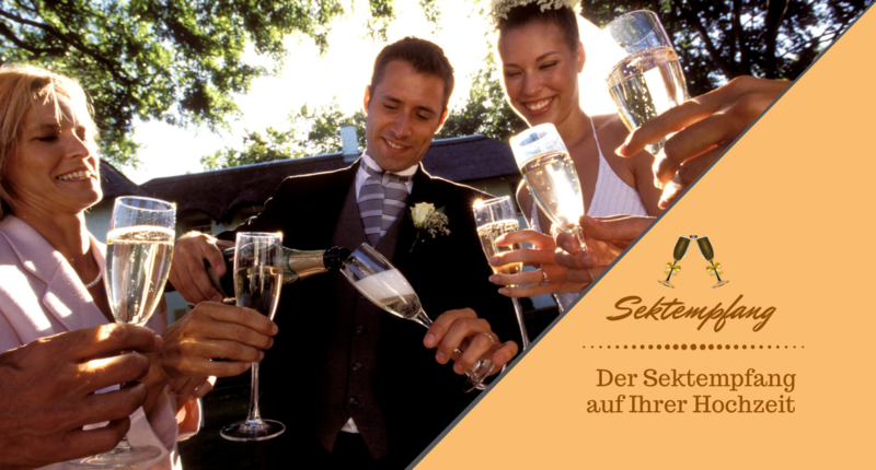Der Sektempfang auf Ihrer Hochzeit - DJ Mario Schulz